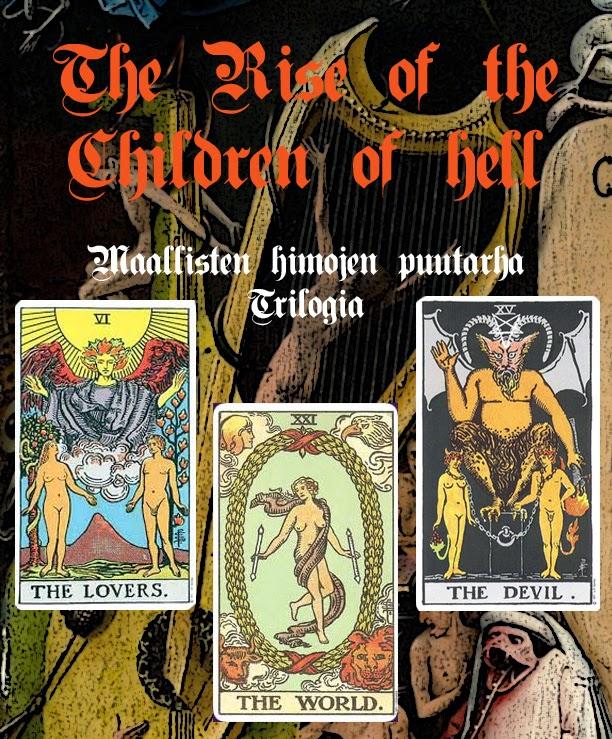 The Rise of the Children of Hell – Maallisten himojen puutarha -trilogia, Taidemuseolla lauantaina 13.12.