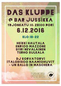 Das Kluppe - Itsenäisyyspäivä @ Pori | Finland