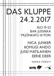 Das Kluppe - Tyhjyys @ Pori | Finland