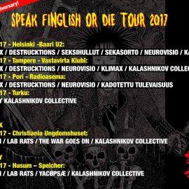 Speak finglish or die tour 2017