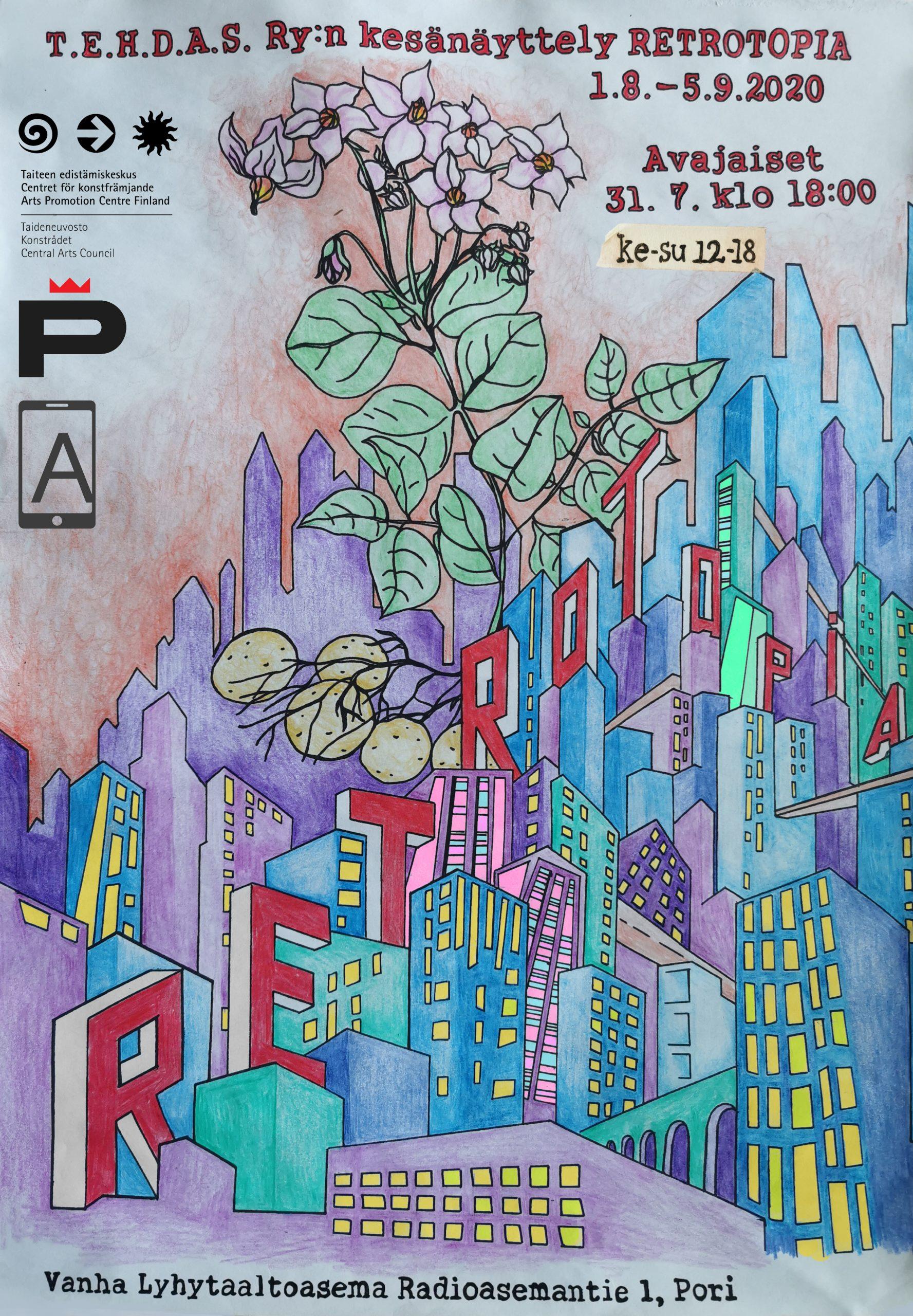 Retrotopia – Kesänäyttely 2020