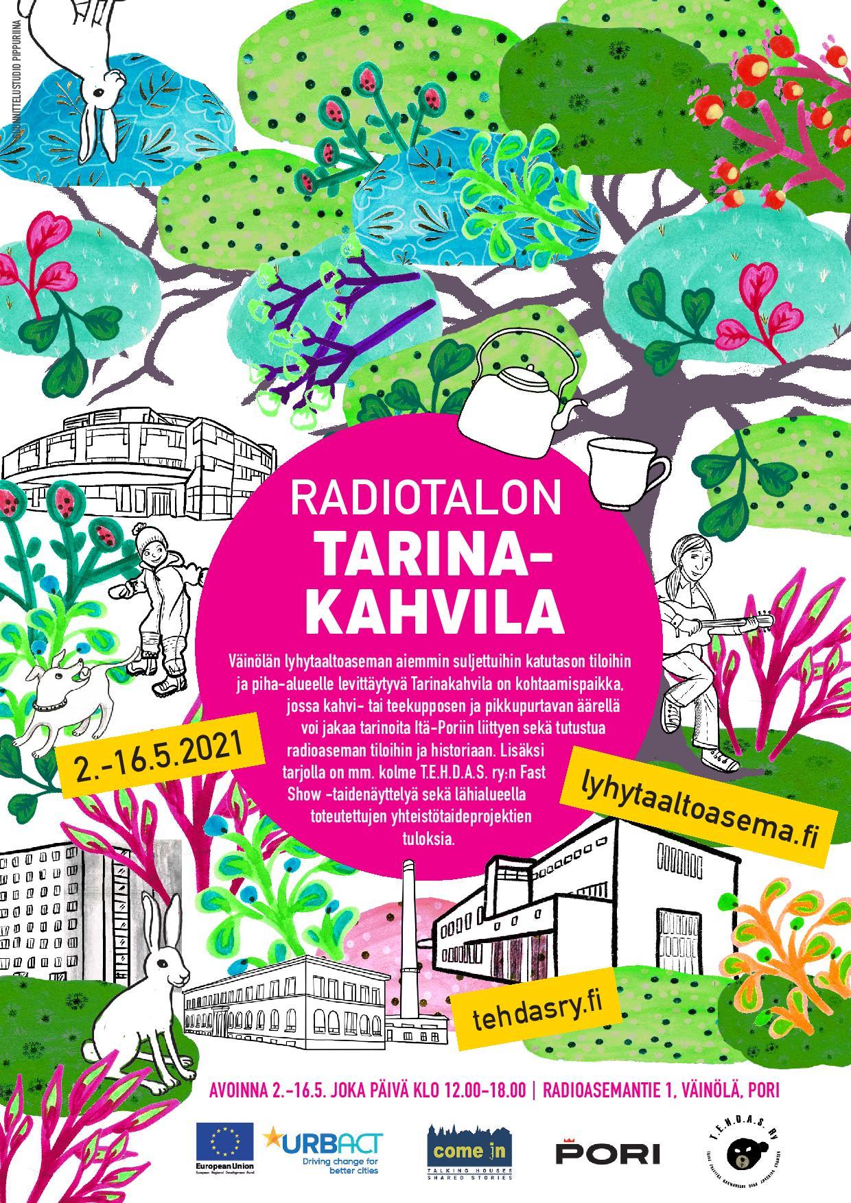 Radiotalon Tarinakahvila